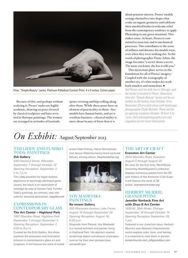 2f239f0c2ce6 Sheridan Road Magazine   Ted Preuss